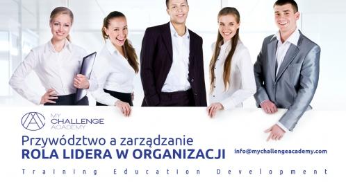 Rola lidera w organizacji rozwijającej się i otwartej na zmiany - Poznań
