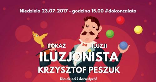 Pokaz Iluzji - Iluzjonista Krzysztof Peszuk #dokoncalata