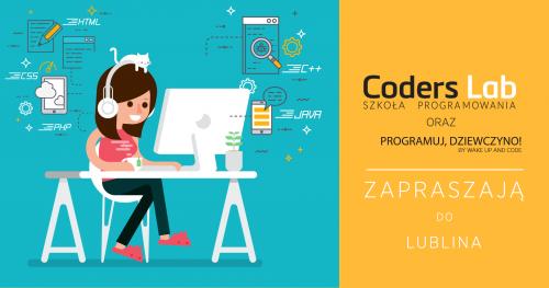 Darmowe warsztaty front-endowe Programuj, Dziewczyno! z Coders Lab w Lublinie