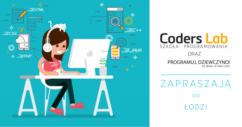 Darmowe warsztaty front-endowe Programuj, Dziewczyno! z Coders Lab w Łodzi