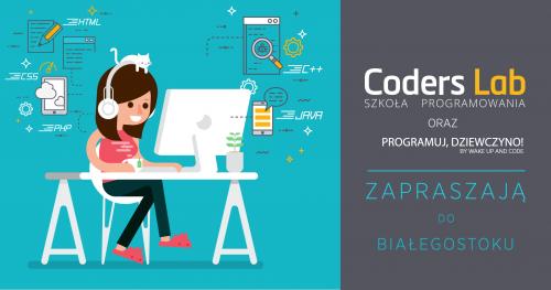 Darmowe warsztaty front-endowe Programuj, Dziewczyno! z Coders Lab w Białymstoku