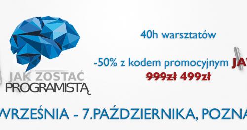"Kurs programowania ""Java Start"" - Poznań"