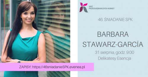 46. Śniadanie Sieci Przedsiębiorczych Kobiet w Warszawie