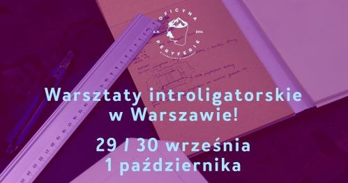 Warsztaty Introligatorskie | WARSZAWA | 29/30.09 i 1.10 2017