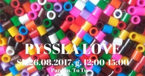 Pyssla Love - warsztaty dla dzieci w Pardon, To Tu
