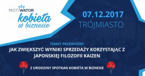 KOBIETA W BIZNESIE - TRÓJMIASTO Spotkania, które pokochały przedsiębiorcze Polki