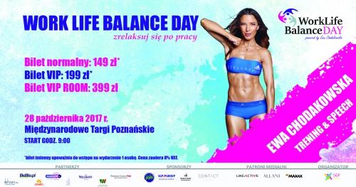 Work Life Balance Day powered by Ewa Chodakowska Poznań