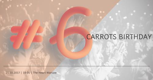 6th Carrots Birthday Meetup | 6. Urodziny Geek Girls Carrots