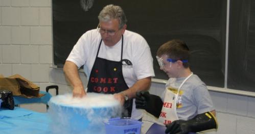 Gotowanie komety - warsztaty dla młodzieży w wieku 11-15 lat