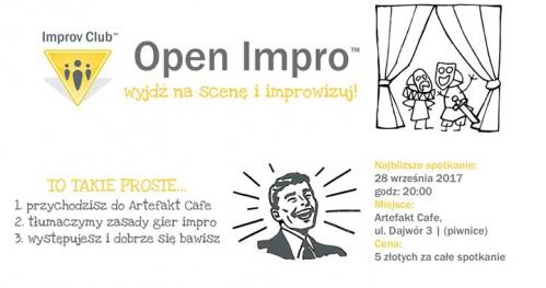 Open Impro - Improwizuj z nami! | Wrzesień
