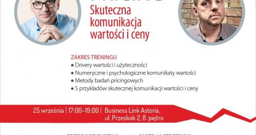 Business Training: Pricing - skuteczna komunikacja wartości i ceny