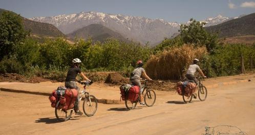 Rowerami przez Atlas Wysoki i Średni