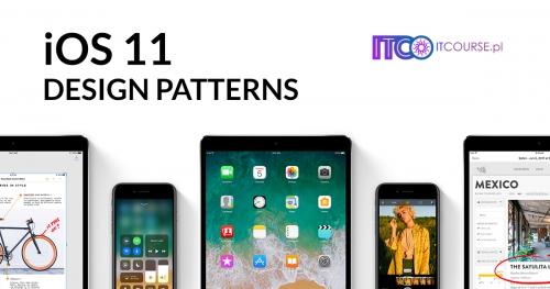 iOS11 Design Patterns  (3 DNI)