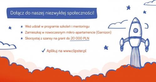 Clipster UP po godzinach - opracuj biznesową stronę swojego pomysłu