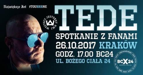 TEDE Skrrrt - Spotkanie premierowe w BCX24 Kraków!