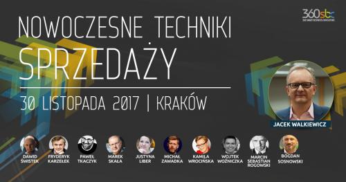KONFERENCJA- NOWOCZESNE TECHNIKI SPRZEDAŻY- Kraków