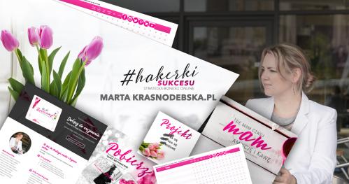 "Spotkanie kursantek ELITE z Martą Krasnodebską ""Hakerki Sukcesu"" 9 GRUDNIA."