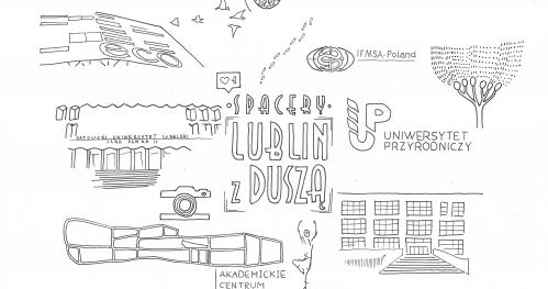 """Spacer """"Lublin Akademicki"""" - 9.XI.2017 - Spacery Lublin z Duszą"""