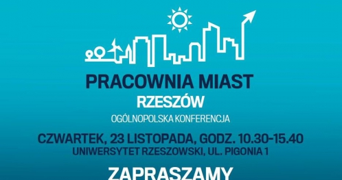 Pracownia Miast w Rzeszowie, 23 listopada 2017 r., Uniwersytet Rzeszowski