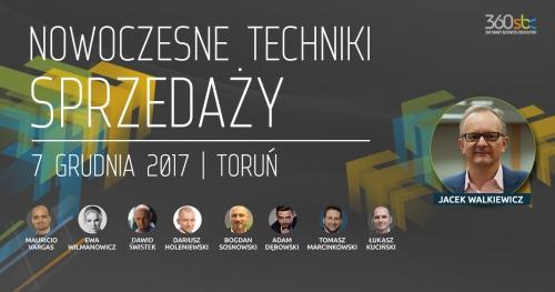 KONFERENCJA- NOWOCZESNE TECHNIKI SPRZEDAŻY- Toruń