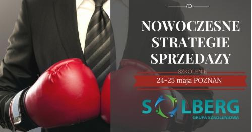 NOWOCZESNE STRATEGIE SPRZEDAŻY- intensywny trening handlowy Grupy Szkoleniowej SOLBERG