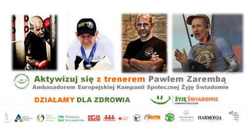 Aktywizuj się z trenerem Pawłem Zarembą