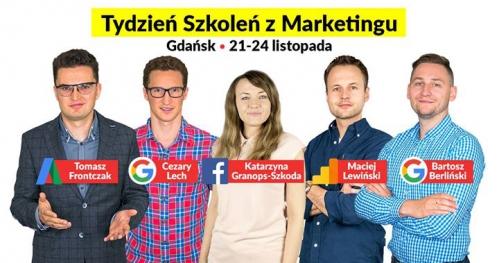 Gdańsk, 21-24.11 Tydzień szkoleń z marketingu