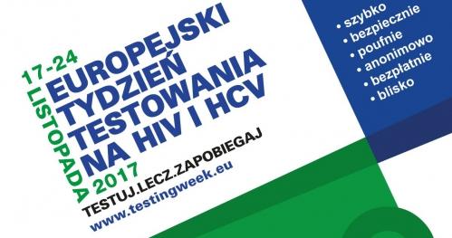 Europejski Tydzień Testowania na HIV i HCV