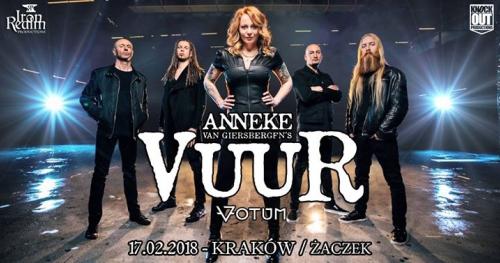 """Vuur + Votum / 17 II / """"Żaczek"""" Kraków"""