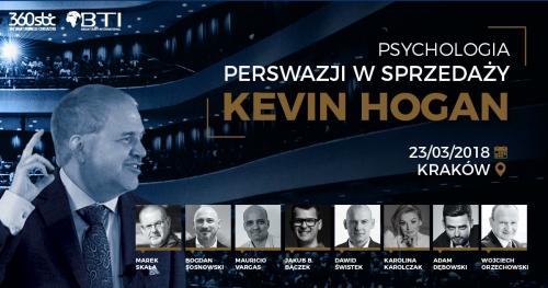 Psychologia perswazji w sprzedaży - Kevin HOGAN