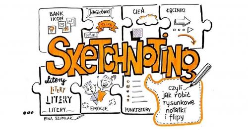 SKETCHNOTING, czyli warsztat robienia rysunkowych notatek i flipów - GDAŃSK