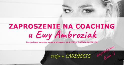 Profesjonalny coaching menedżerski w gabinecie - sesja zerowa