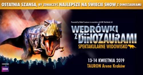 Wędrówki Z Dinozaurami - Spektakularne Widowisko, 13.04.2019