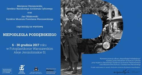 """Wystawa """"Niepodległa Poddębskiego"""" w Fotoplastikonie Warszawskim"""