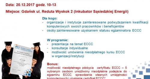 Dzień Otwarty Europejskiego Certyfikatu Kompetencji Informatycznych