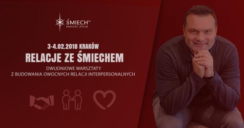 Relacje ze Śmiechem w Krakowie (3-4.02.2018)
