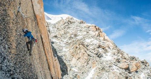 Masyw Mont Blanc okiem początkującego fotografa i wspinacza