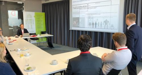 Śniadanie z Robotem - cykliczne spotkania kadry zarządzającej oraz właścicieli procesów