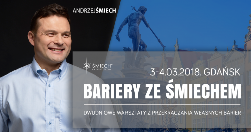 Bariery ze Śmiechem w Gdańsku (3-4.03.2018)