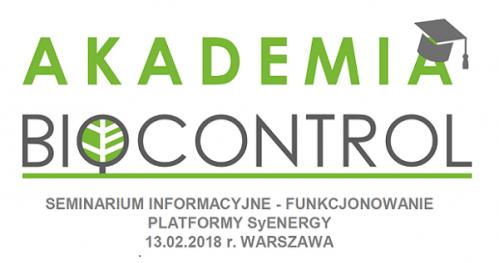 Seminarium informacyjne - funkcjonowanie platformy SyEnergy