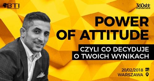 POWER OF ATTITUDE - Czyli Co Decyduje o Twoich Wynikach Norik Koczarian