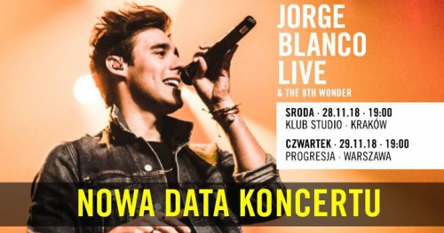 Jorge Blanco LIVE & The 8th Wonder Studio Kraków