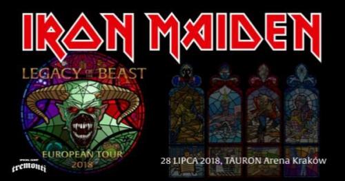 Iron Maiden Official Event, Tauron Arena Kraków, 28.07.2018