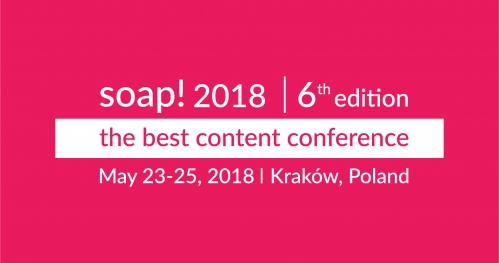 soap! 2018 - the best content conference