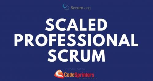 Szkolenie Scaled Professional Scrum