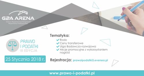 Konferencja Prawo i Podatki - III Edycja