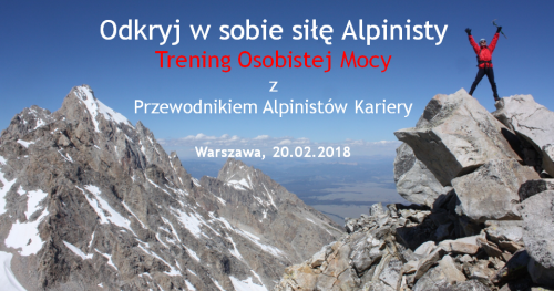 Odkryj w sobie siłę Alpinisty