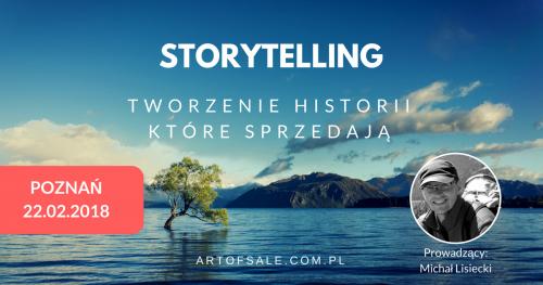 STORYTELLING - Tworzenie historii, które sprzedają