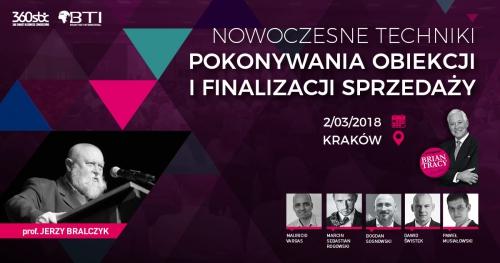 NOWOCZESNE TECHNIKI POKONYWANIA OBIEKCJI I FINALIZACJI SPRZEDAŻY - Kraków