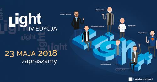 LiGHT 4.0 - konferencja dla młodych menedżerów [23 Maja 2018]